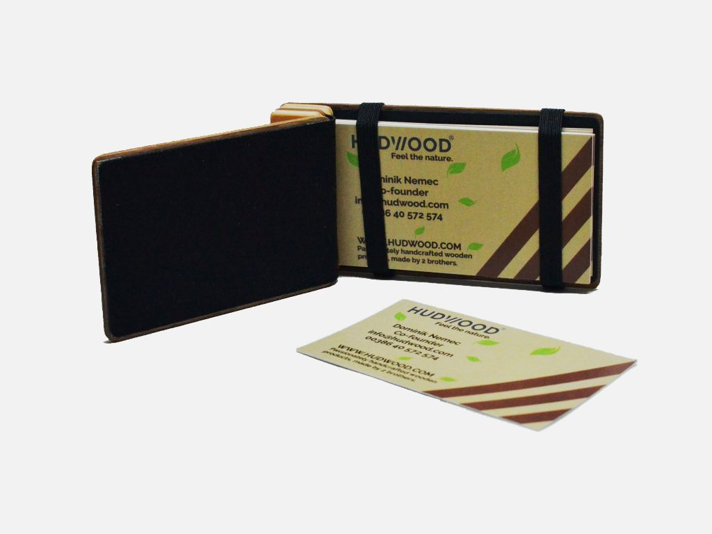 Business card holder hudwood business card holder magicingreecefo Image collections